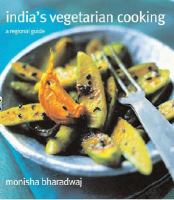 India's Vegetarian Cookery