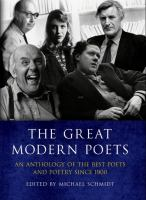 The Great Modern Poets