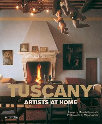 Tuscany: artists at home book cover