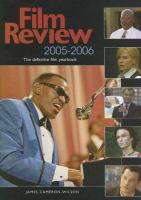 Film Review, 2005-2006