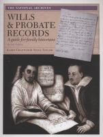 Wills & Probate Records