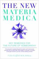 The New Materia Medica