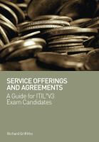 Service Offerings and Agreements