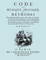 Code de musique pratique, ou, Méthodes