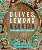Olives, Lemons & Za'atar