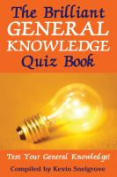 The Brilliant General Knowledge Quiz Book