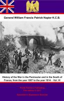 History of the War in the Peninsular and in the South of France, Volume Vi