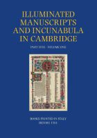 A Catalogue of Western Book Illumination in the Fitzwilliam Museum and the Cambridge Colleges