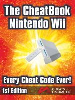 The Cheatbook Wii