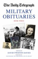 The Daily Telegraph Military Obituaries
