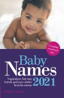 BABY NAMES 2021 US