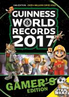Guinness World Records Gamer's Edition 2017