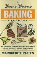 The Basic Basics Baking