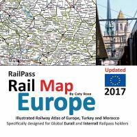 Railpass Rail Map Europe