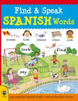 Find & Speak Spanish Words