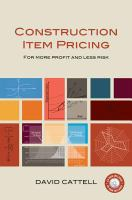 Construction Item Pricing