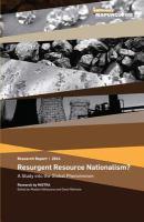 Resurgent Resource Nationalism