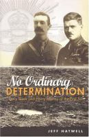 No Ordinary Determination