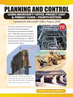 Planning and Control Using Microsoft Office Project and PMBOK® Guide, Fourth Edition