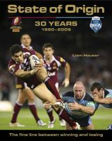 State of Origin 30 Years
