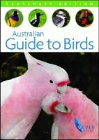 Australian Guide to Birds