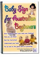 Baby Sign for Australian Beginners