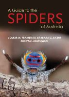 A Guide to the Spiders of Australia