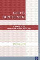God's Gentlemen