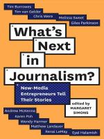 What's Next in Journalism?