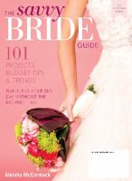 The Savvy Bride Guide