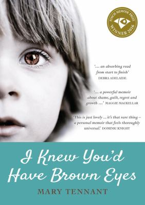 Cover image for I Knew You'd Have Brown Eyes