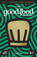 Australia Good Food Guide 2019