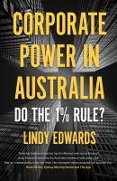 Corporate Power in Australian Democracy