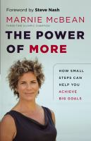 The Power of More