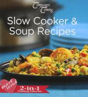 Most Loved Slow Cooker and Soup Recipes