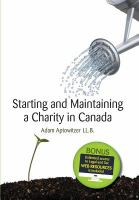 Starting and Maintaining A Charity in Canada
