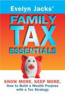 Image: Evelyn Jacks' Family Tax Essentials
