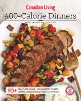 400-calorie Dinners