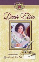 Dear Elsie