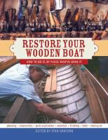Restore your Wooden Boat