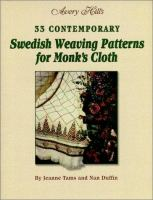 Avery Hill's 33 Contemporary Swedish Weaving Patterns for Monk's Cloth