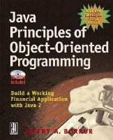 Java Principles of Object-oriented Programming