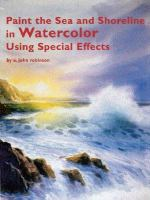 Paint the Sea and Shoreline in Watercolor Using Special Effects