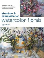 Structure & Expression for Flowers in Watercolor
