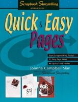 Quick & Easy Pages