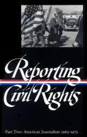 Reporting Civil Rights Part Two