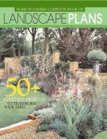 Home Planners Complete Book of Landscape Plans