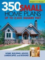 350 Small Home Plans
