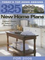 325 New Home Plans