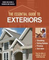 The Essential Guide to Exteriors